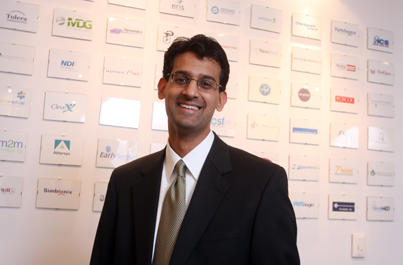 President and CEO of BioEnterprise, Baiju Shah. Photos | Ben French