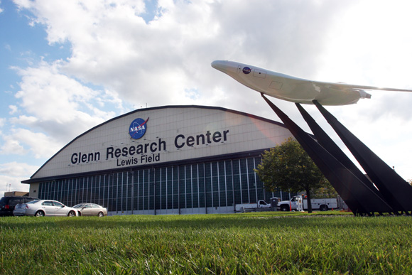 NASA Glenn Research Center in Cleveland. Photos Ben French
