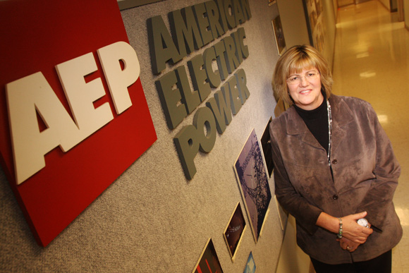 Karen Sloneker, Director of Customer Services and Marketing for AEP Ohio. Photos Ben French