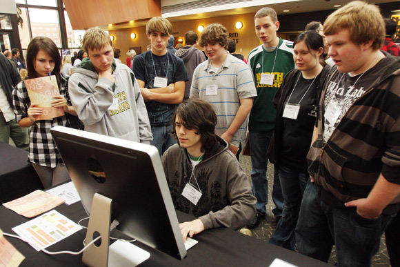Shawnee State University recently hosted a video game conference. Photos Ben French