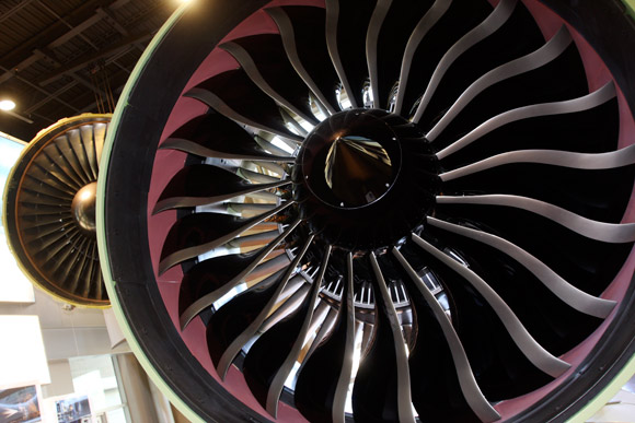 GE Aviation's GE90 Engine. Photo | Ben French