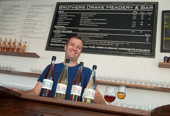 Eric Allen of Brothers Drake Meadery & Bar in Columbus, Ohio