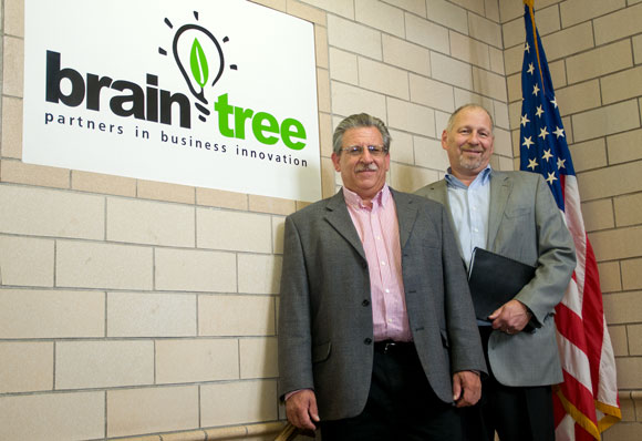 Bob Leach, Director of Operations and Bob Cohen, CEO of Braintree Business Development Center